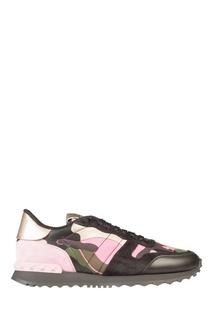 Цветные кроссовки Valentino