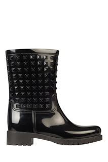 ede0851be Женские резиновые сапоги на каблуке – купить в интернет-магазине ...