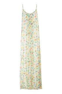 Длинный сарафан с цветочным принтом Essentiel Antwerp