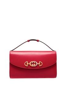 Компактная красная сумка Zumi Gucci