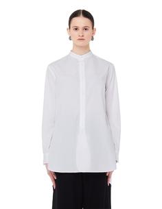 Белая хлопковая блузка Ys