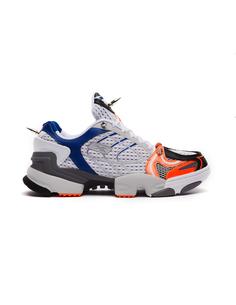 Серо-оранжевые кроссовки Spike Runner 400 Vetements