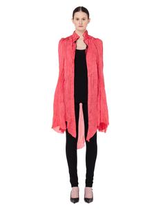 Розовая блузка с кружевом IF SIX WAS Nine
