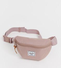 Эксклюзивная розовая сумка-кошелек на пояс Herschel Supply Co Fourteen - Розовый