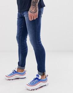Синие джинсы скинни Blend lunar - Синий