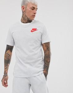 Белая футболка с логотипом Nike - Белый