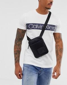 Черная сумка для авиапутешествий с логотипом Calvin Klein - Черный
