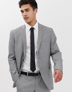 Приталенный пиджак в ломаную клеточку Esprit - Серый