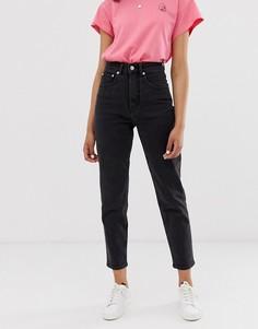 Джинсы из органического хлопка в винтажном стиле Cheap Monday Donna - Черный