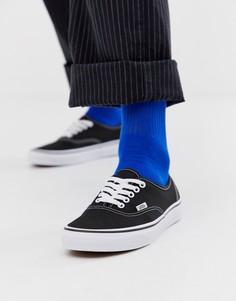 Черные кроссовки Vans Classic - Черный