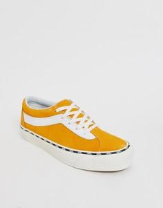 Желтые кроссовки Vans Bold Ni - Желтый