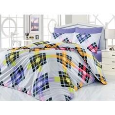 Комплект постельного белья Cotton Life 1,5 сп Smart лиловый (6120)
