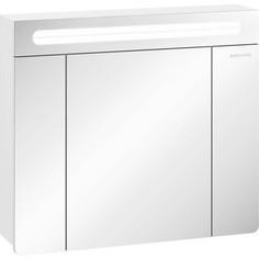 Зеркальный шкаф Edelform Гласс 75x66 белый (2-691-00-S)