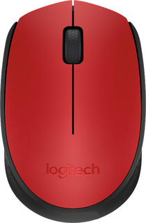 Мышь Logitech M171 Wireless Red-Black 910-004641