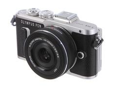 Фотоаппарат Olympus PEN E-PL8 Kit 14-42 mm EZ-M1442EZ Black-Black
