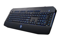 Клавиатура Tt eSports Challenger GO Black KB-VEL-MBBLRU-01 USB
