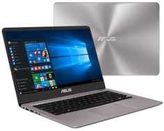 Ноутбук ASUS UX410UA-GV399T 90NB0DL3-M08020 (Intel Core i5-8250U 1.6 GHz/8192Mb/512Gb SSD/No ODD/Intel HD Graphics/Wi-Fi/Bluetooth/Cam/14.0/1920x1080/Windows 10 64-bit)