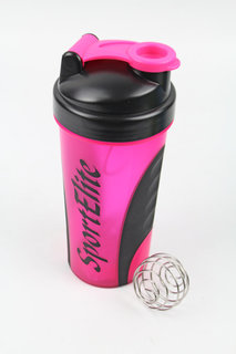 Шейкер Sport Elite SH-120 600ml Pink-Black