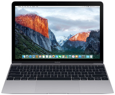 Ноутбук APPLE MacBook 12 Space Grey MNYG2RU/A (Intel Core i5 1.3 GHz/8192Mb/512Gb/Intel HD Graphics 615/Wi-Fi/Bluetooth/Cam/12.0/2304x1440/macOS Sierra)