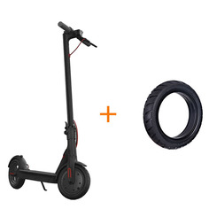 Электросамокат Xiaomi Mijia Electric Scooter M365 Black NewGen 2.0 & комплект покрышек FBC4004GL