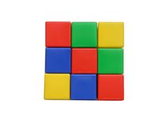 Кубики Десятое Королевство 9 эл. 00900