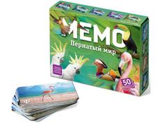 Настольная игра Нескучные игры Мемо Пернатый мир 7952/48