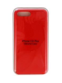 Чехол Innovation для APPLE iPhone 7 Plus / 8 Plus Silicone Case Red 10276