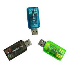Звуковая карта ATcom USB-sound Card 5.1 3D Sound AT7807