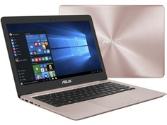Ноутбук ASUS Zenbook UX410UF-GV179T Rose Gold 90NB0HZ4-M03850 (Intel Core i5-8250U 1.6 GHz/8192Mb/256Gb SSD/nVidia GeForce MX130 2048Mb/Wi-Fi/Bluetooth/Cam/14.0/1920x1080/Windows 10 Home 64-bit)