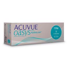 Контактные линзы Johnson & Johnson 1-Day Acuvue Oasys with HydraLuxe (30 линз / 8.5 / -0.5)