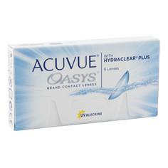 Контактные линзы Johnson & Johnson Acuvue Oasys with Hydraclear Plus (6 линз / 8.4 / -6)