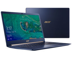 Ноутбук Acer Swift 5 SF514-52T-88W1 NX.GTMER.005 (Intel Core i7-8550U 1.8 GHz/16384Mb/512Gb SSD/No ODD/Intel HD Graphics/Wi-Fi/Bluetooth/Cam/14.0/1920x1080/Touchscreen/Windows 10 64-bit)