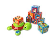 Кубики Азбукварик Черепашка Умняшка с кубиками 4680019282213