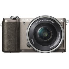 Фотоаппарат Sony Alpha A5100 Kit 16-50 mm F/3.5-5.6 E OSS PZ Brown