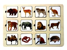 Головоломка Smile Decor Секретики Зоопарк 3141773