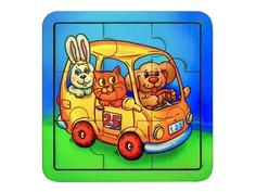 Пазл Smile Decor Автобус со зверушками 2499200