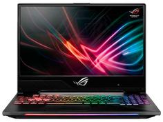 Ноутбук ASUS ROG GL704GM-EV055T Black 90NR00N1-M01100 (Intel Core i5-8300H 2.3 GHz/16384Mb/1000Gb+256Gb SSD/nVidia GeForce GTX 1060 6144Mb/Wi-Fi/Bluetooth/Cam/17.3/1920x1080/Windows 10 Home 64-bit)