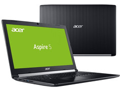 Ноутбук Acer Aspire A517-51G-52GJ NX.GVPER.017 (Intel Core i5-7200U 2.5 GHz/8192Mb/1000Gb/DVD-RW/nVidia GeForce MX130 2048Mb/Wi-Fi/Bluetooth/Cam/17.3/1920x1080/Linpus)