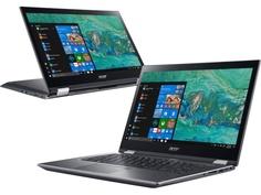 Ноутбук Acer Spin 3 SP314-51-36B8 NX.GZRER.002 (Intel Core i3-8130U 2.2 GHz/4096Mb/128Gb SSD/Intel HD Graphics/Wi-Fi/Bluetooth/Cam/14.0/1920x1080/Touchscreen/Windows 10 64-bit)