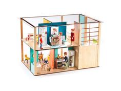 Кукольный домик Djeco Дом-кубик 07801