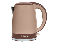 Чайник Delta DL-1370 Beige-Brown Дельта
