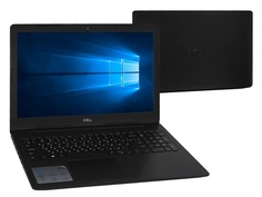 Ноутбук Dell Inspiron 5570 Black 5570-5294 (Intel Core i3-7020U 2.3 GHz/4096Mb/1000Gb/DVD-RW/AMD Radeon 530 2048Mb/Wi-Fi/Bluetooth/Cam/15.6/1920x1080/Windows 10 Home 64-bit)