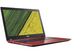 Ноутбук Acer Aspire A315-53G-32LV Red NX.H49ER.003 (Intel Core i3-8130U 2.2 GHz/4096Mb/1000Gb+128Gb SSD/nVidia GeForce MX130 2048Mb/Wi-Fi/Bluetooth/Cam/15.6/1920x1080/Windows 10)