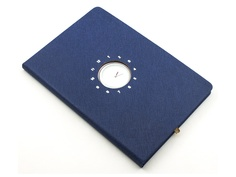 Блокнот Эврика с часами А5 Blue 99265 Evrika