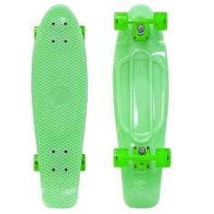 Скейт Y-SCOO Big Fishskateboard Glow 27 Green-Green 402E-G