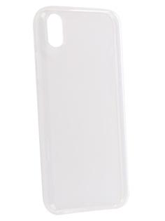 Чехол Brosco для APPLE iPhone XR Silicone Transparent IPXR-TPU-TRANSPARENT