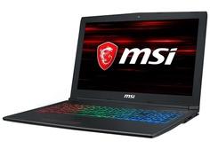 Ноутбук MSI GF62 8RE-044XRU MS-16JE 9S7-16JE22-044 Black (Intel Core i7-8750H 2.2GHz/8192Mb/1000Gb/No ODD/nVidia GeForce GTX 1060 6144Mb/Wi-Fi/Bluetooth/Cam/15.6/1920x1080/DOS)