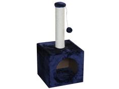 Когтеточка Pet Choice 31x31x67cm Dark Blue SBE1952