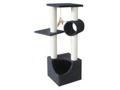 Когтеточка Pet Choice 35x35x105cm Black SBE991
