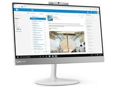 Моноблок Lenovo V410z 10QW0008RU White (Intel Core i5 7400T 2.4 GHz/4096Mb/500Gb/HD Graphics 630/Wi-Fi/Bluetooth/Cam/21.5/1920x1080/No OS)